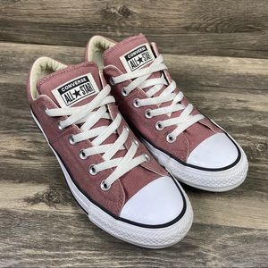 Converse All Star Dusty Rose Pink Low Top Sneakers